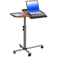 Techni Mobili Ventura Adjustable Mobile Laptop Stand in Mahogany