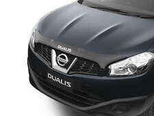 New Genuine Nissan Dualis J10 Series Smoked Tinted Bonnet Protector
