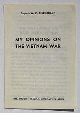 Wartime Viet Cong (VC) Leaflet, Chieu Hoi Psychological Propaganda POW