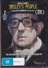 SMILEY'S PEOPLE - Alec Guinness, Eileen Atkins, Bill Paterson -  2 DVD's