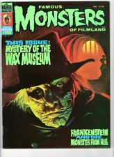 WoW! Famous Monsters #113 Mystery Of The Wax Museum! Frankenstein & Monster Hell