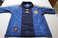 CAMISETA OFICIAL FUTBOL SELECCION ESPAÑA ADIDAS T/S EUROPEO 1996 VINTAGE SHIRT