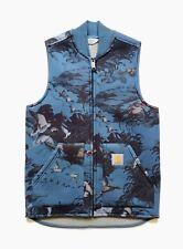 Carhartt WIP Car-Lux Classic Vest, Hunter Print/Grey, XS