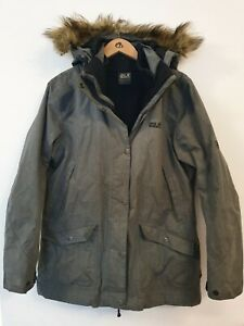 JACK WOLFSKIN Texapore 3in1 System Parka/Padded Coat Size XL