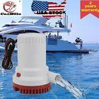 1500 GPH Heavy Duty Submersible Non-Automatic Water Bilge Pump 12V Boat Yacht RV photo