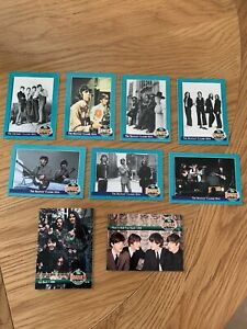 The Beatles - 9 x River Group Trading Cards