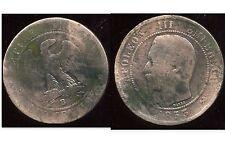 FRANCE   FRANCIA   10 centimes NAPOLEON III   1853 B   (1)