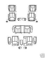2009 - 2012 Maxima S Leather Interior Seat Cover TAN