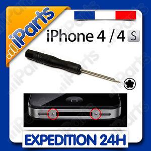 TOURNEVIS TORX - PENTALOBE - ETOILE  POUR IPHONE 4 / 4S