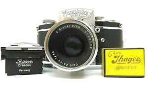 Fotocamera Ihagee Exakta Varex VX  ottica Carl Zeiss Jena Biotar 1:1.2 f= 58 mm