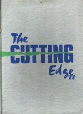 1988 Milwaukee, WI, Pius XI High School ''The Cutting Edge'' Yearbook