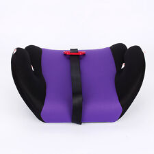 Car Booster Seat Safety Chair Cushion Pad for Toddler Children Child Kids Sturdy Purple