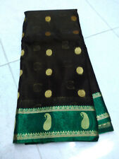 Fancy Silk Saree Grand Pallu Full Jari Work Saree W/B Handloon Soft Silk Saree