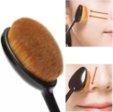 New Oval Liquid Foundation Powder Contour Bronzer Cosmetic Makeup Brush UK