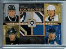 2007-08 The Cup LEMIEUX - CROSBY - GRETZKY - MESSIER Jerseys Quads PATCH / 5