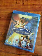 Beauty and the Beast (Animated) Disney Blu-Ray BRAND NEW, 1991, UK IMPORT