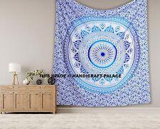 Indisch Ombre Mandala Tagesdecke Wandbehang König Größe Tapisserie-Strand Wurf