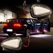 LED SMD Umfeldbeleuchtung kalt weiß SEHR HELL VW Außenspiegel Pfützenlicht 7412