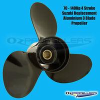 13.4 x 15 For Tohatsu Propeller 4 Blade Alloy Prop 60-70-75-90-115-120-140hp
