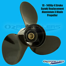 PROP NEW SUZUKI DF70 80 90 115 140HP 4 Strokes 3Blade Alloy All Sizes In Stock