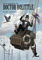 THE VOYAGES OF DR. DOLITTLE: by Hugh Lofting **MOVIE TIE-IN** HC NEW FREE SHIP