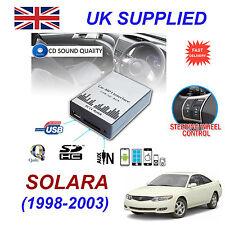 SOLARA 1998-03 MP3 SD USB CD AUX Input Audio Adapter Digital CD Changer Module