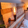 Water pipe Retro Wall Light Vintage Industrial Rustic Steampunk 4 Colour