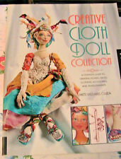 CREATIVE CLOTH DOLL COLLECTION~Patti Culea 5 books~cloth art doll patterns & how