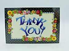 "Mary Engelbreit Thank You Postcards 4"" X 6"" 30 Cards In Pack New"