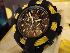 Invicta 23871 50mm Bolt Sport Chrono Carbon Fiber Dial Silicone Strap Watch NEW!
