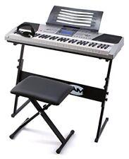 Rockjam Rj661 Piano Digitale 61 Tasti Superkit con Supporto Sgabello e Cuffie