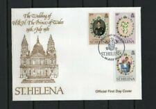 [BC169] St.Helena 22/7/1981 Royal Wedding FDC.