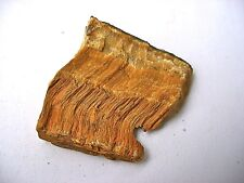 1 x GOLDEN TIGERS EYE NATURAL ROUGH UNPOLISHED STONE 25mm - 30mm BAG & ID CARD