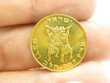 Israel Land of Milk & Honey Moses Fine .999 Gold Vintage Rare Bullion Coin