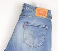 Levi's Strauss & Co Herren 501 Gerades Bein Jeans Größe W34 L32 AVZ942
