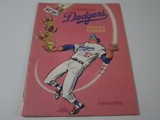 Vintage 1967 Los Angeles Dodgers MLB Baseball Official Souvenir Yearbook