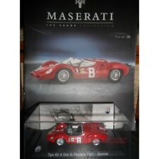 Maserati Collection 100 Years Tipo 63 1961 Modellino +fas DIE CAST 1:43 Model