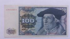 Billet Banknote Bill 100 Deutsche Mark 1960 Superbe état .