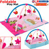 Baby Gym Playmat Lay & Play Mat 4 in 1 Fitness Musical Fun Piano For Boys Girls