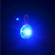 Pet Dog Cat Puppy LED Flashing Collar Tag Clip Buckle Safety Night Light Pendant