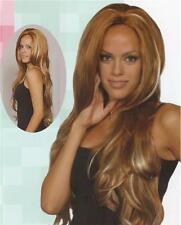 Red/Blond Long Straight Wig - Black/Brown/Auburn Wigs