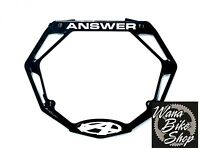 Answer Bmx Pro Number Plate Black