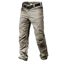 New Outdoor Men Tactical Pants Army Military Men Waterproof Trouser Muti Pockets
