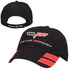 C6 Corvette Grand Sport Black Cotton Hat