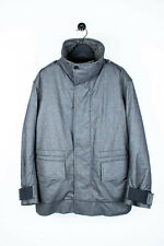 Genuine Prada Grey Men Heavy Padded Parka Jacket in size 54 ITA