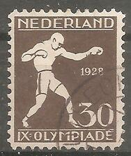 nederland 219 gestempeld  c.w.  €  25,00 hoogste waarde