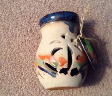 Marblestone Pottery Incense Burner.Handmade In Jamaica.New With Tags