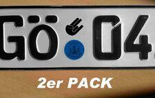 The Shocker Kennzeichen Nummernschild Aufkleber Sticker Leider Geil 34x26mm