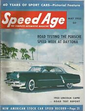 1953 Speed Age Magazine May Issue