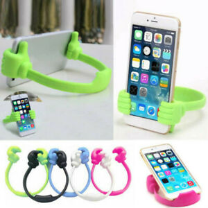 Universal Thumb Shape Mobile Phone Stand Holder Bracket Mount For  tuI$^
